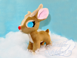 Little Deer Plush by FeatherStitched