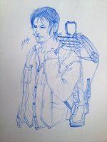 The Walking Dead - Daryl Dixon by l3earFat