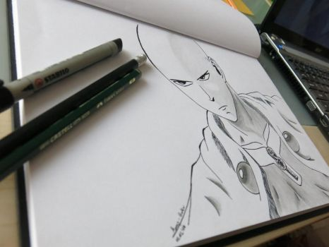 One punch man by Amy-Goku