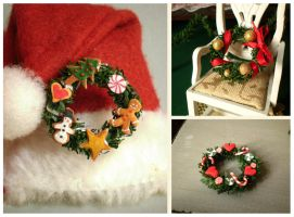 Christmas Wreaths by vesssper