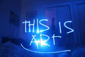 Light Graffiti is art by chimpanzagoo