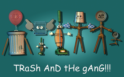 Trash and the Gang | Model Pack | Coming soon! by BlackiieProductions