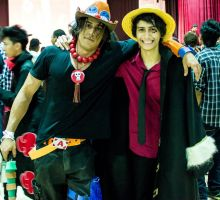 ACE One Piece Cosplay 2nd Remake - 3 by vega147