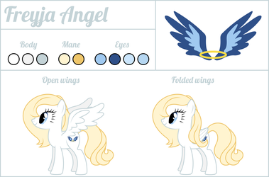 Freyja Angel - Reference Sheet by dasprid