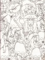One Full Page of Ice Queen by Catula