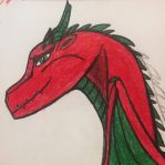 Draco Bay: Aeon's Dragon Form by SassyWritter