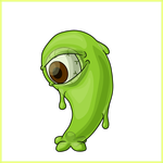 Slime - Simple Concept Art by Draggaco