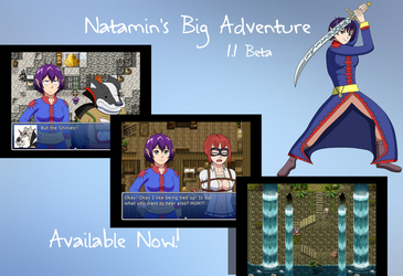 Natamin's Big Adventure 1.1 Beta is here! by Natamin
