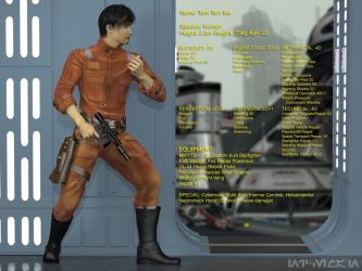 Star Wars RPG Profile: Tam Tam Sei by NICELabs