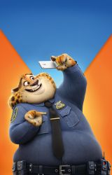 Benjamin Clawhauser Textless Poster by foxylvr2189