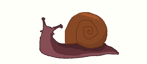 Raspberry Snail by Wergox