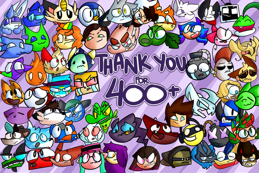THANK YOU SO MUCH! [400+ Special] by Vladinym