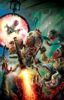 MARS ATTACKS: Zombies vs. Robots! by RayDillon