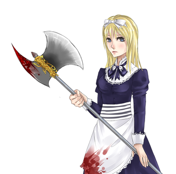 Belarus and a friggin axe by HollowMyst