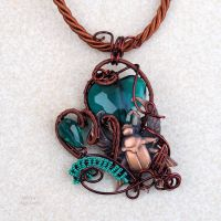Scarab with green heart by IanirasArtifacts