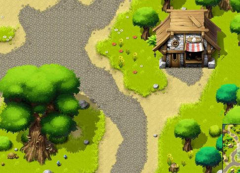 Sagramore MMO background gfx 2 by Pyroxene