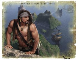 The Pirate by ted1air