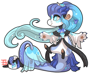 #498 Blessed Tale BB w/m - Mermaid Auction CLOSED by griffsnuff
