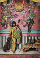 Aztec General and his dog by TheSax66
