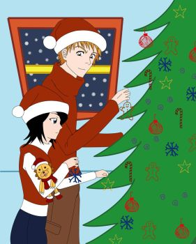 A Very IchiRuki Christmas by teraa1