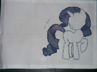 Work in Progress: MLP Rarity (4/29/12) by BlushiexD