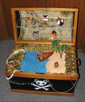 Pawrate Treasure Chest Display by crokittycats