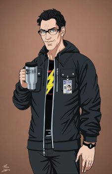 Harrison Wells (Earth-27) commission by phil-cho