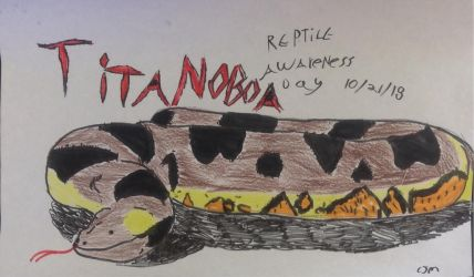 Titanoboa Reptile Awareness Day by ChrisM199
