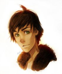 Hiccup by Anixien