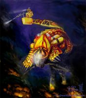 Underground Firefighter with by Dreamspirit