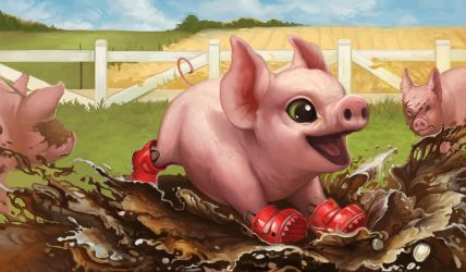 Creature Collection: Piglet by ALRadeck