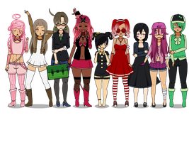 All Together! (Info+Export) by NaomineAdoptables