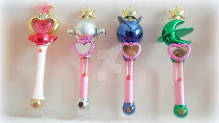 Sailor Moon Gashapon Rods 3 by Naneia