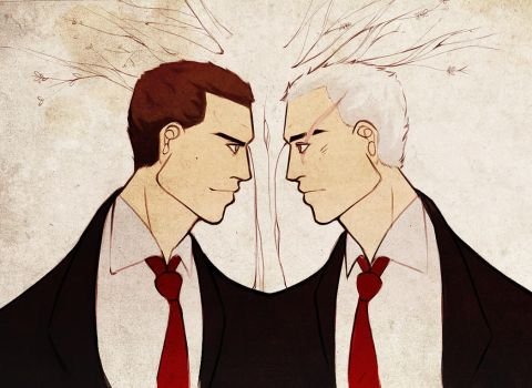 deadly premonition - bffs by spoonybards