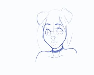 Luvon Rough Animated Portrait by TtotheKay
