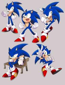 Sonic thingies by Tale-Dude