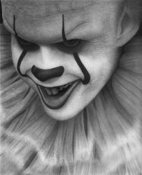 Pennywise ( it ) drawing by hg-art