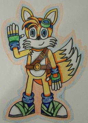 Happy 25th Birthday Tails Prower!!!!!!!! by Erik-the-Okapi