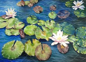 Water Lily II by Matzi-Pan