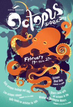 Octopus Week 2011 by chibighibli