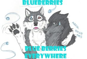 OW_Blueberries, Blueberries Everywhere by MaximWolf