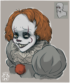 Expression Challenge - Friendly Smile Pennywise by Twime777