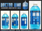 Doctor Who - Juice Bottle by mikedaws