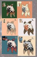 Star Wars OC Color Ref by Swallow-of-Fire8091