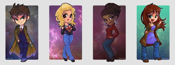 Doctor Who - Allons-y! by cute-loot