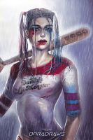 Harley Quinn by BoraDraws