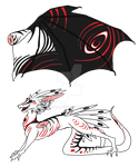 Dragon design by Fucal