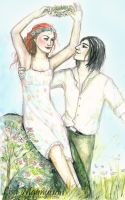 The Prince and the Flower by rawenna