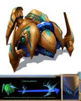 Protoss Vanquisher by Phill-Art