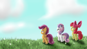 We are the Cutie Mark Crusaders by ROBBERGON